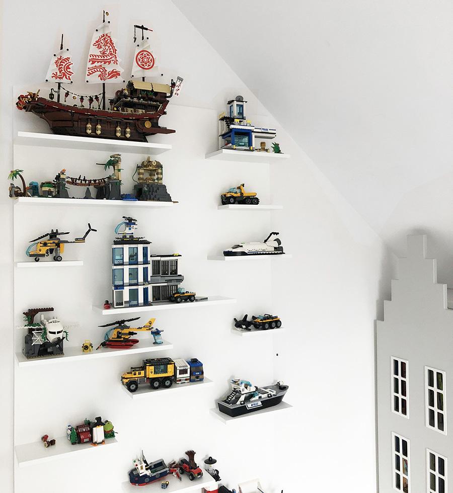 Regał Półka Na Lego Lub Zabawki
