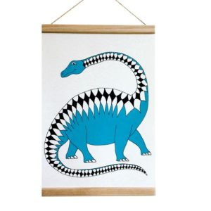 plakat do pokoju dziecięcego dinozaury dinoraw