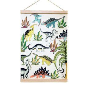 dekoracje ścienne plakat dinozaury