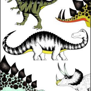 DinoRaw plakaty z dinozaurami