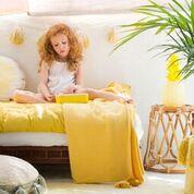 żółta girlanda do pokoju dziecka